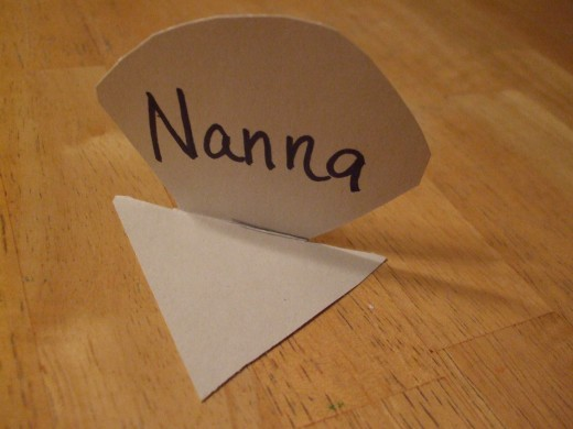 Most children are proud of being able to spell their own name.  For the other guests, an older helper may be needed.