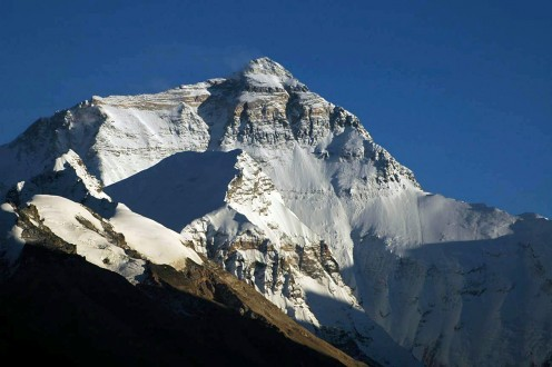 The North Face viewed from the Rongbuk Glacier (North Base Camp)