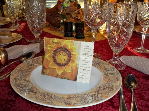 Coordinate A Place Card With Your Table Setting For An Extra-Special Touch Of Love