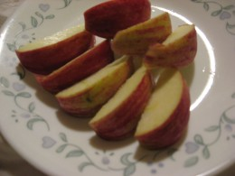 The one thing better than sliced bread...sliced apples.