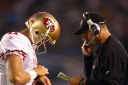 Others may have not believed in Smith but Harbaugh and the Niners have.