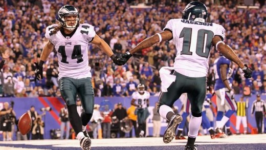 Riley Cooper's impressive start may pave for the way to DeSean Jackson's exit from Philly