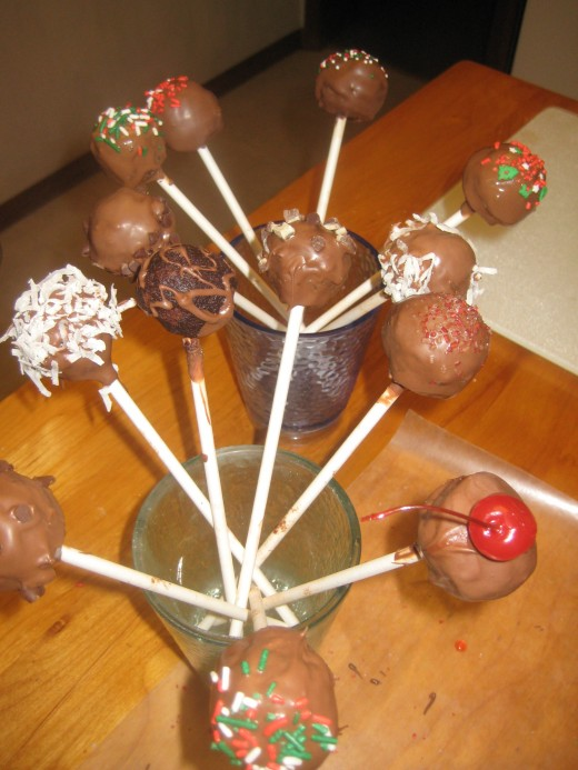 Cake Pops are fun to make and even more fun to eat!