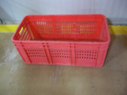 A red Box of Bread Basket