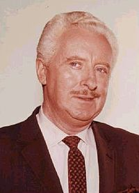 """DAVID WHITE A/K/A LARRY TATE, DARRIN STEPHEN'S BOSS ON BEWITCHED. WHITE, TO ME, IS """"THE KING OF YES MEN."""""""