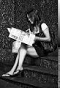 IF SHE LOVES TO READ--WHILE ON DATES WITH YOU, IN CAFES, AND BACK AT YOUR PLACE, SHE'S JUST NOT THAT IN LOVE WITH YOU.