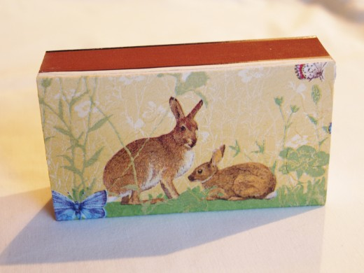 Even doorstops can bring back happy memmories of a walk in the woods or a special Easter egg hunt.