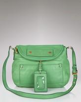 Marc by Marc Jacobs Preppy Leather Natasha Crossbody Bag Purse~Green New
