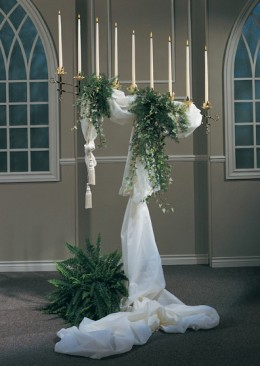 A beautiful candelabra can add beauty and elegance to your wedding.