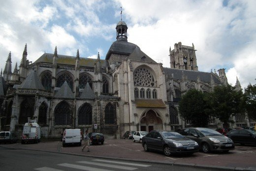 Church of Saint Jacques, Dieppe, Seine-Maritime, Upper Normandy, France