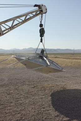 Flying saucers along the Nevada Highway?? Well, maybe!