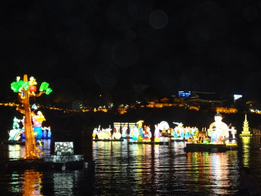 Jinju Lantern Festival in October