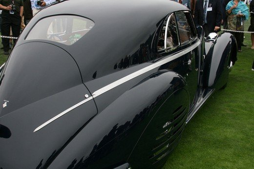 1938 Alfa Romeo 8C 2900B Touring Berlinetta - This car won Best in Show this year (2008)