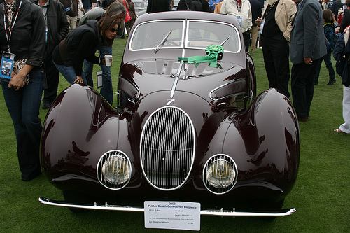 Another photo of the Tabot owned by the Peter Mullin Automotive Museum Foundation