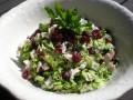 Raw Broccoli & Cranberry Salad