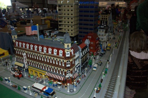 everything in this photo is made with LEGO!