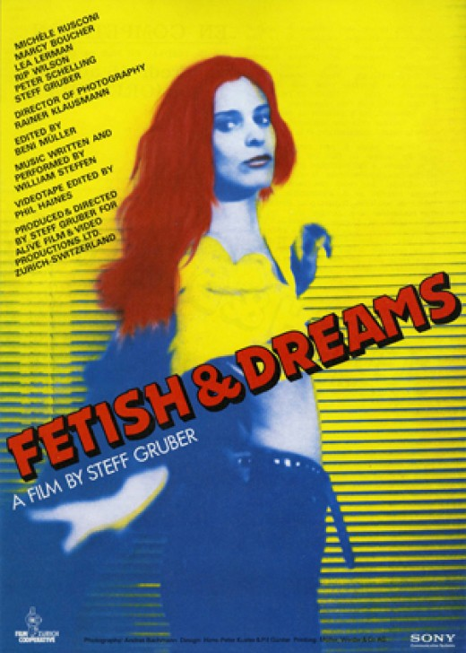 """Fetish & Dreams"" promotional poster"