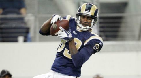 Brandon Lloyd has helped the Rams offense