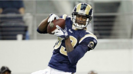 Brandon Lloyd has helped the Rams offense