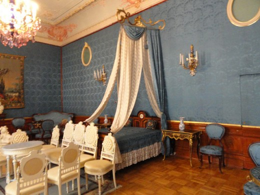 Blue Bedroom in the Yusupov Palace