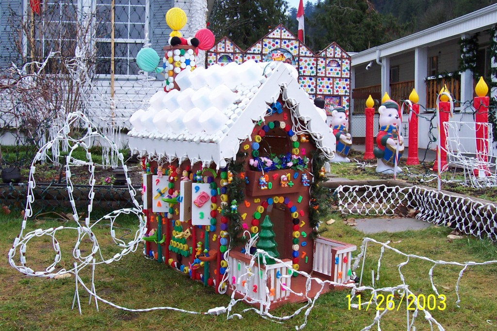 Homemade outdoor christmas decorations Outside xmas decorations ideas