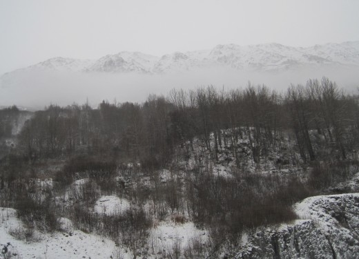 The cold highlights how quickly Alaska's landscape changes.
