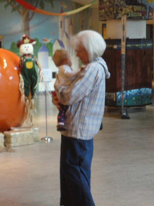 While Occupy Seattle gathered to rage outside, CW and Grandmama enjoyed the Children's Museum.