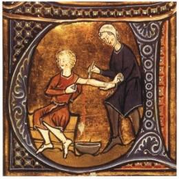 Medieval Bloodletting.
