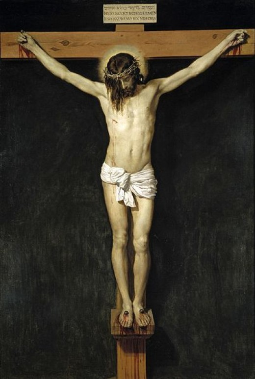 """The Crucifixion"" by D Velázquez (17th century)"