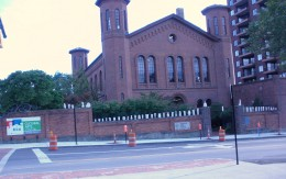 Cultural Arts Center is located in the old armory building in Columbus, Ohio.