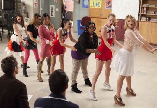 "The cast of ""Glee"" make performance art literally out of songs from the past and present."