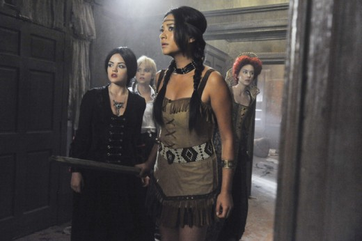 """Pretty Little Liars"" has a great theme song to showcase the show's dark secrets."