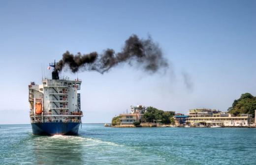 Ship carbon emissions