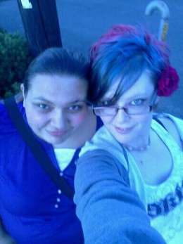 Ariel (Left) and Me (Right)