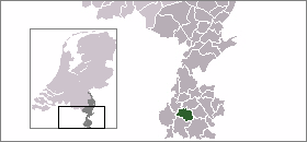 Map location of Valkenburg-aan-de-Geul
