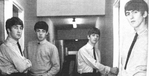 The Beatles in 1963- visually, they were very different for that time.