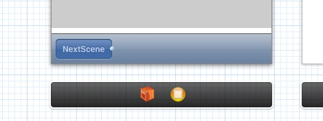 Figure 8: Drag and create Toolbar and Button. Rename button to something meaningful