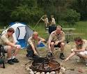 BOY  (AND GIRL) SCOUTS MAY BE THE ONLY PEOPLE WHO CAN ACTUALLY COPE WITH AND OVERCOME THE HIDDEN TRAPS OF OUTDOOR CAMPING.