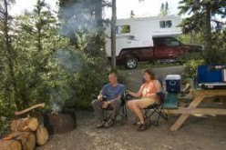 LONLINESS CAN EASILY DEVOUR ANY SEASONSED OR ROOKIE CAMPER. SEE HOW LONELY, DEPRESSED THIS CAMPING COUPLE HAVE BECOME?