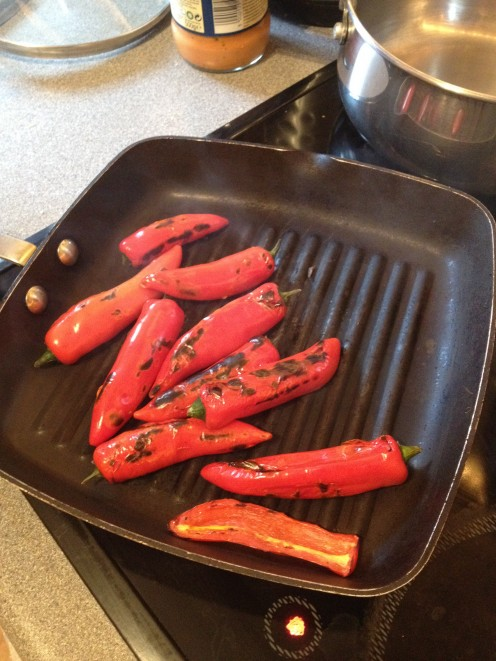 Char grill your chilli peppers