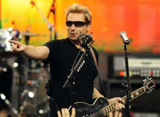 Nickelback performing at halftime during the Detroit Lions vs Green Bay Packers game Thanksgiving. (US PRESSWIRE)