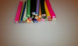 Fimo Nail art canes
