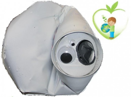 This scaredy-ghost craft is easy and inexpensive to make and it is also eco-friendly.