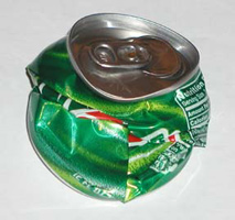 Don't forget to recycle the cans you don't use!