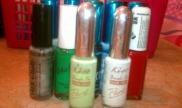 Nail strip polish