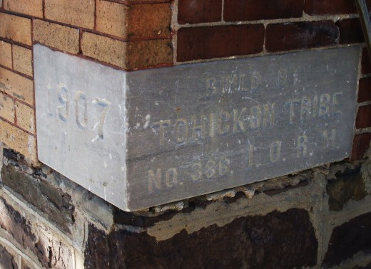 Cornerstone of the museum.