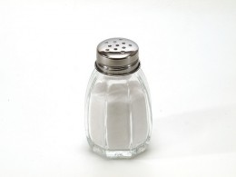 Put the salt shaker away to reduce salt in your diet.