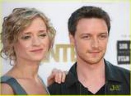 James McAvoy and his wife, Ann-Marie Duff