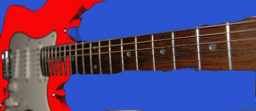 Get to know your guitar fretboard.