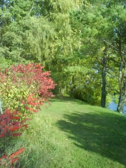 Autumn Days - Walk With Me Along The River - At Home - A Poem